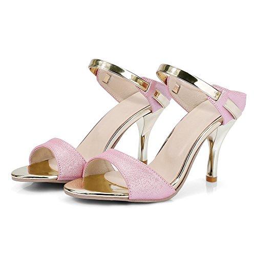 Talon Femme 1 Pink Aiguille Sandales Sexy Mules RAZAMAZA fEwqRxFf