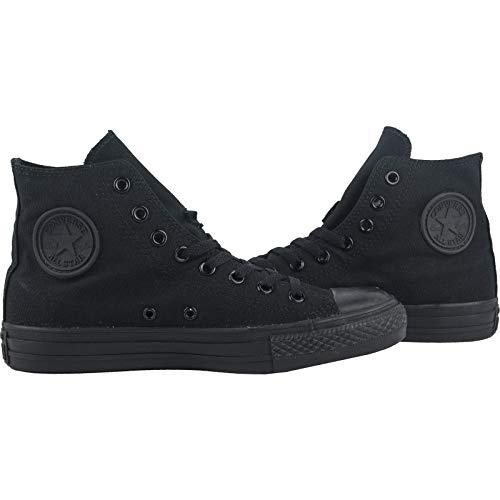 Nero Mono Converse Sneaker Taylor A Hi Unisex schwarz C – s noir Adulto T4BB1Hzq