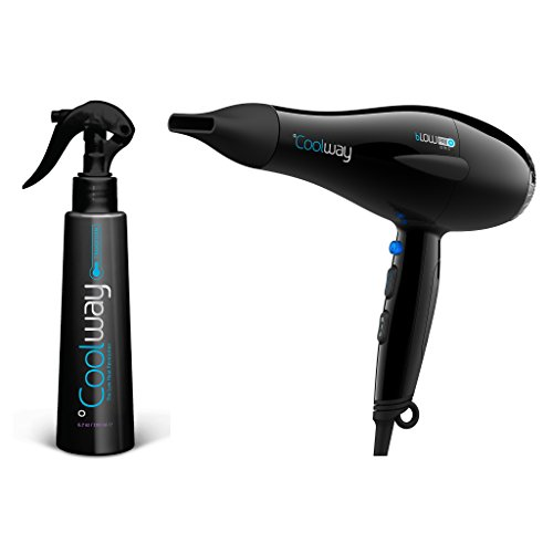 Price comparison product image Coolway Go Pro Ionic Blow Dryer Starter Kit w/ Transform Spray