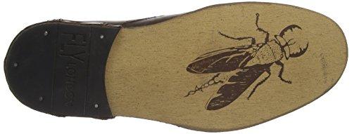 Uomo Scarpe Braun London Hans Camel stringate derby basse 002 Fly Marrone ZYEqW1q