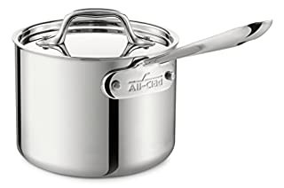 All-Clad 4202 Stainless Steel Sauce Pan with Lid Cookware, 2-Quart, Silver (B004T6M702) | Amazon Products