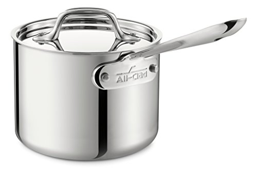 Saucepan, 2-Quart, Stainless Steel, with Lid