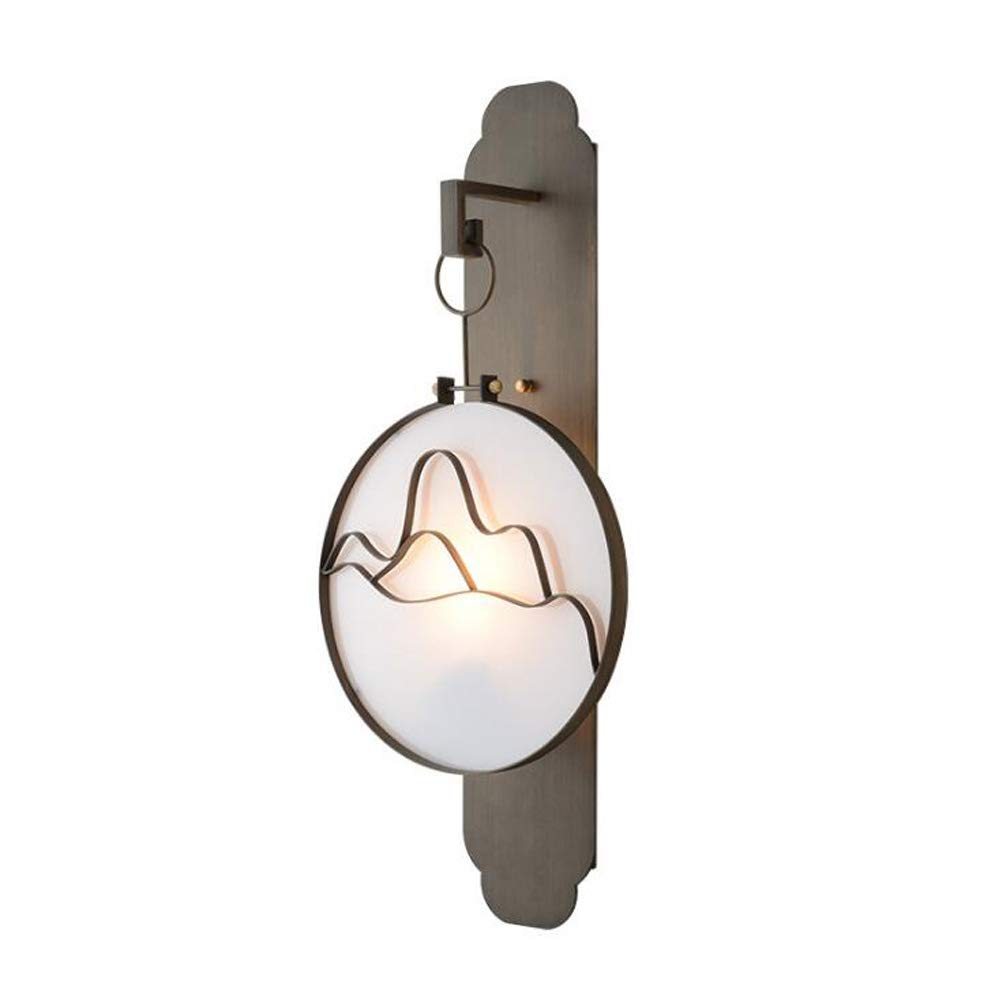 Wall Lamp Landscape Design Aisle Lamp Bedside Wall Light Suitable for Living Room Dining Room Study Room Bedroom Corridor Balcony Stairs Path Hotel Restaurant Cafe Bar Library, 7030cm