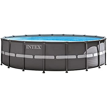Intex Ultra Frame 18 By 9 Foot By 52 Inch Rectangular Pool Set Older Model Garden