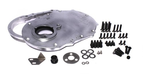 COMP Cams 217 Billet Aluminum Timing Cover for Big Block Chevy Generation VI - 2 Piece Billet Cam Cover