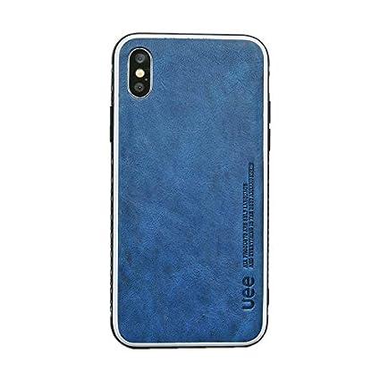 Amazon.com: UEE - Funda de piel para iPhone Xs Max (2019 ...