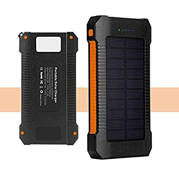 FZLBN Cargador Solar para Moviles22000 mAh, Cargador de ...