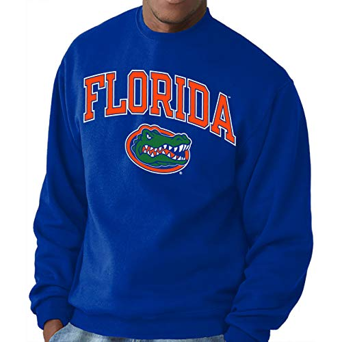 Florida Gators Adult Arch & Logo Gameday Crewneck Sweatshirt - Royal