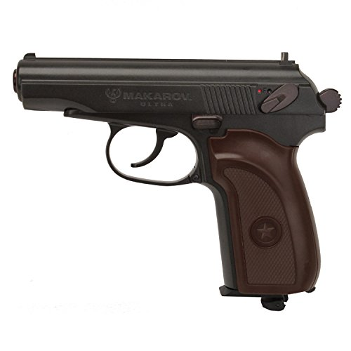 Umarex Legends 2251811 BB 16 Rounds 350fps Air Pistol, 0.177 Caliber, Brown