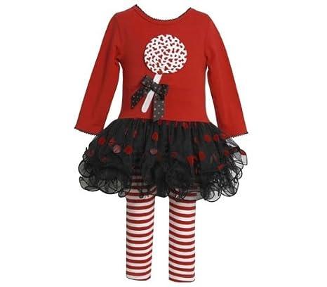 Amazon.com: Bonnie Jean Baby Girls Lollipop Christmas Holiday Dress  Leggings, Red (6-9 MONTHS): Infant And Toddler Clothing Sets: Clothing - Amazon.com: Bonnie Jean Baby Girls Lollipop Christmas Holiday Dress