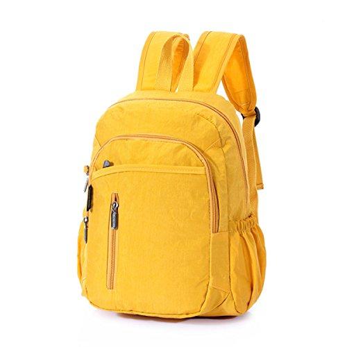 FZHLY Bolso De Hombro De Ridge Para Estudiantes Bolsa De Hombro Simple,SkyBlue Yellow