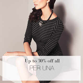 Up to 30% off all per una