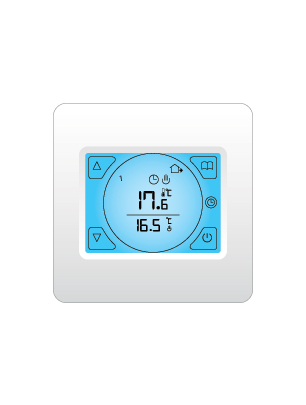 Underfloor heating thermostat
