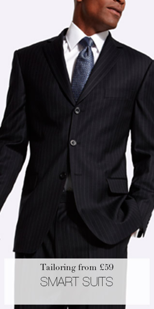 Tailoring from £59 SMART SUITS
