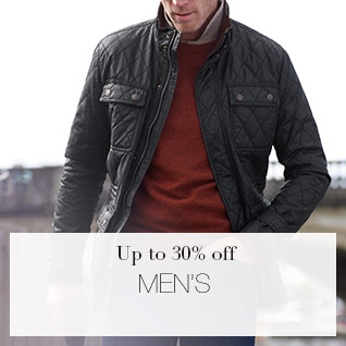 Up to 30% off Men's