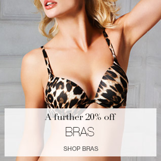 A further 20% off bras