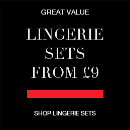 Great Value Lingerie Sets from £9