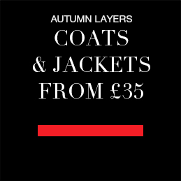 Autumn layers Coats and jackets from £35