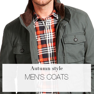 Autumn style MEN'S COATS