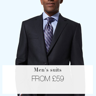 Men's suits from £59