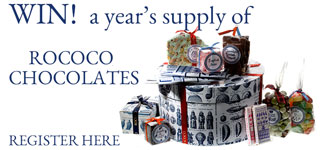 win a years supply of chocolates