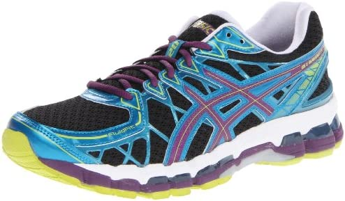 ASICS Womens Gel Kayano 20 W Gel Kayano 20 Black Size: 9 N