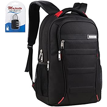 Amazon.com: Oiwas 14 inch Slim Laptop Backpack School Rucksack ...