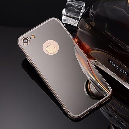 Cover iPhone 7,Custodia iPhone 8,Custodia Specchio in TPU Silicone ...
