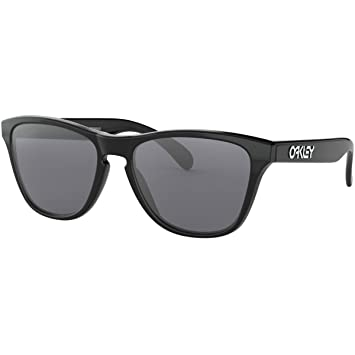 Oakley Frogskins XS Polished Black grey GREY Zxh0EhvqGt