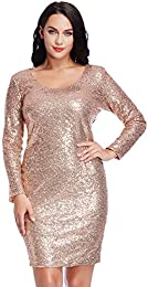 Amazon.com: Plus Size - Club / Dresses: Clothing- Shoes &amp- Jewelry