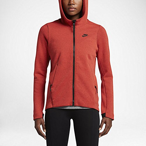 Nike Womens Sportswear Tech Fleece 831709-852 Max Orange Heather Black:  Amazon.ca: Sports & Outdoors