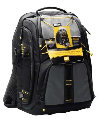 Amazon.com : Nikon Backpack for DSLR, Lenses, and Laptop : Camera ...