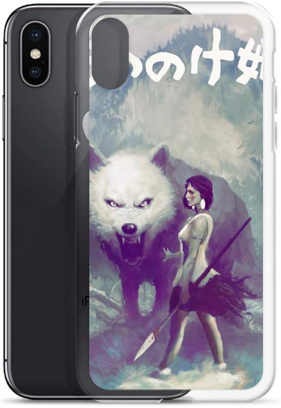 Princess Mononoke Purple And White iphone case