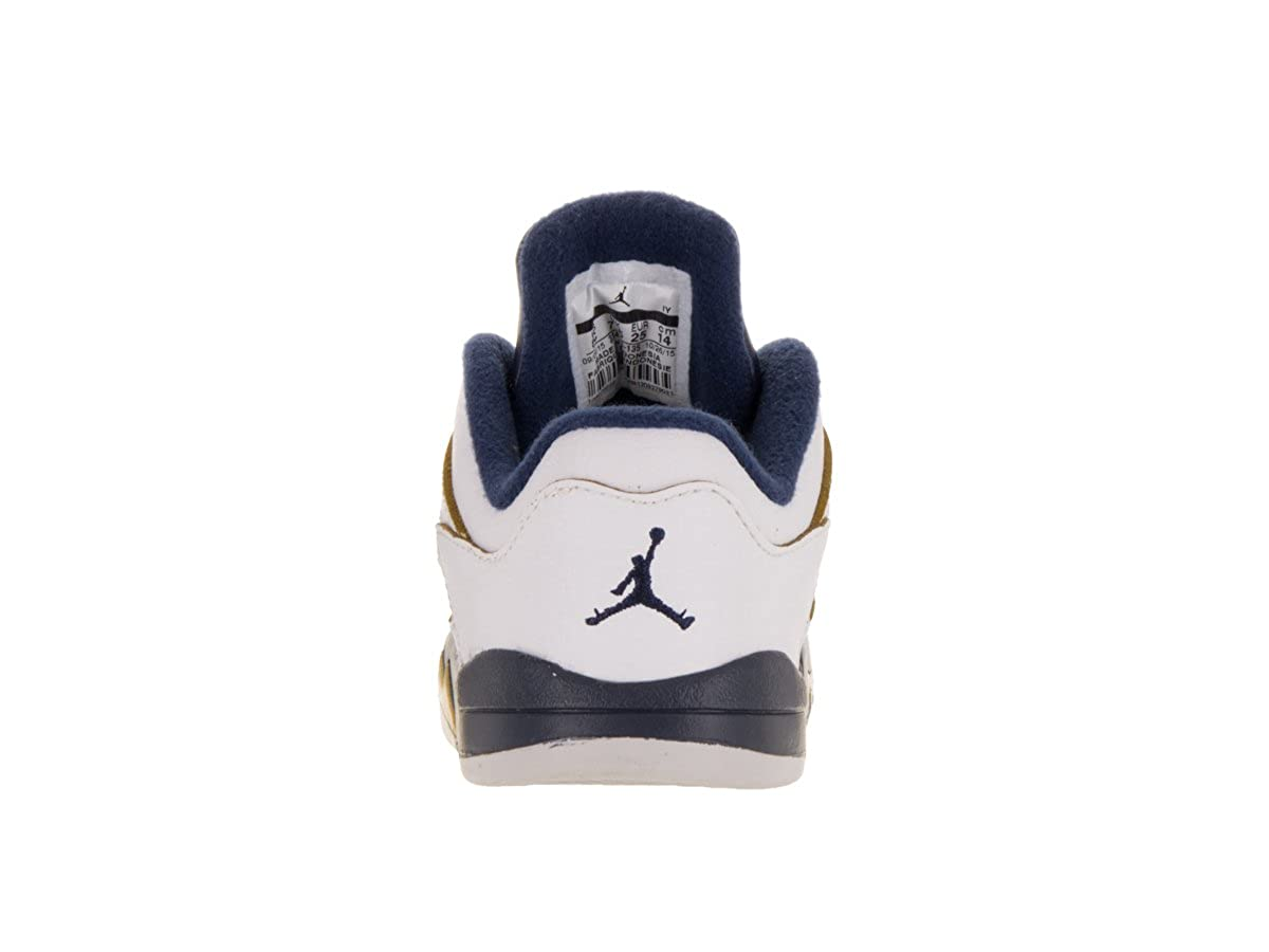 314340 Td Low 135 10c Jordan Retro Whitenavygold Toddlers 5 OPTkXuZi