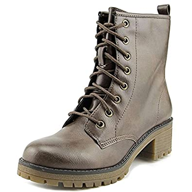 Amazon.com | Madden Girl Women's Eloisee Combat Boot | Ankle & Bootie