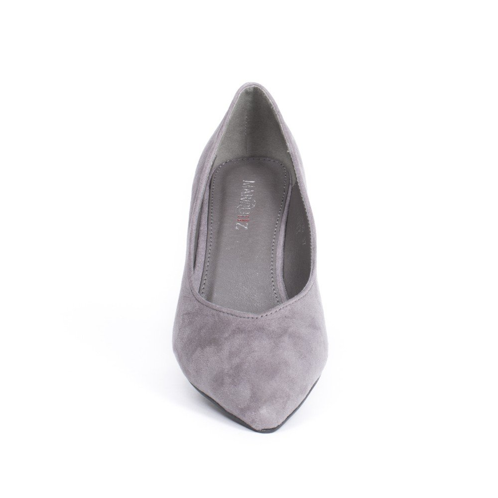 À Daim Pointu Effet 41 Gris Ideal Shoes Bout Amazon Escarpins Laila qnUxwxEYCg