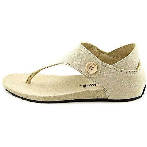 Bearpaw April Kvinner Oss 7 Tan Thong Sandal ...