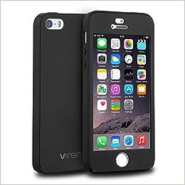 iPhone 5S Case, iPhone 5 Case, iPhone SE Case, VANSIN 360 Full ...