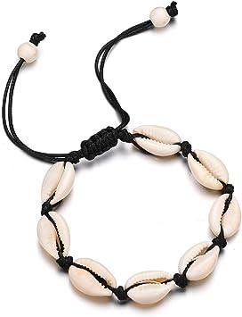 bracelet coquillage cheville femme