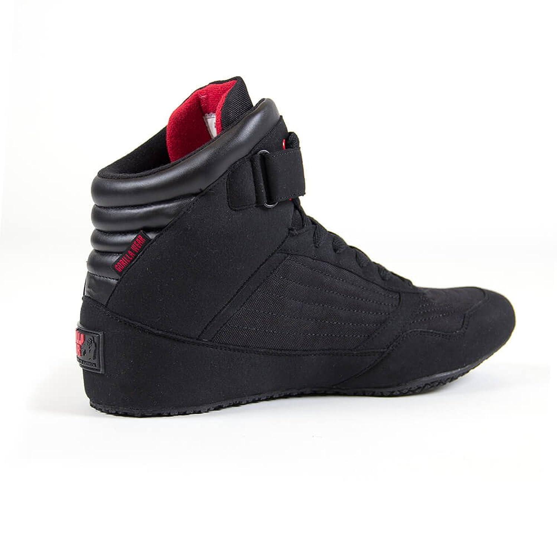 check out 5c226 05c3d Gorilla Wear Chaussures Shoes Rouge Baskets montantes bodybuilding Fitness  Gym K8XsYLRME9