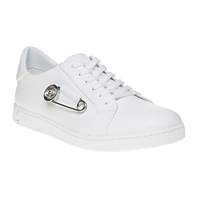 Versus Safety Pin Low Top Herren Sneaker Weiß: