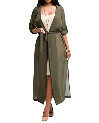 Pure Beauty PureBeauty Women's Long Sleeve Cover Up Lightweight ...