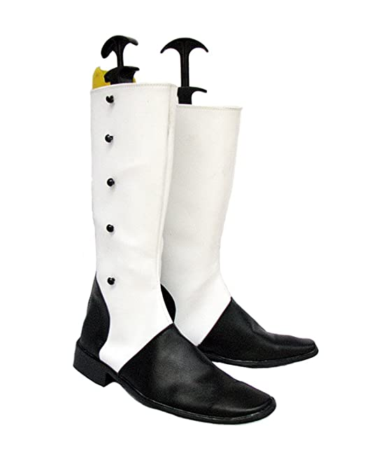Black Butler Kuroshitsuji The Ringmaster Charles Grey Cosplay Shoes Boots Custom Made