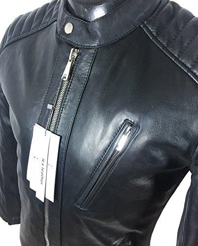 check-out 32552 56996 Cuir Feuilleter Style Homme Zara Motard Jcktlf1 En 9953401 ...