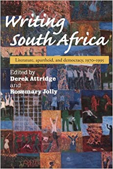 Book about south africa apartheid fiction