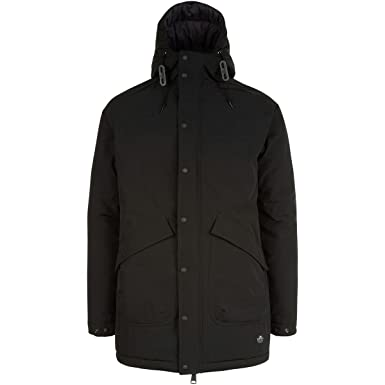 Penfield Men's Kingman Insulated Fishtail Parka, Black, X-Large at ...