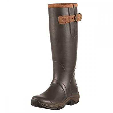 Ariat Womens Radcot Brown Rubber Boots 37 EU 2Yp9XmA