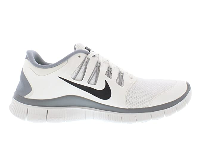 Nike Herren Free 5.0+ Breathe Running WhiteGrey Synthetic Shoe 8.5 D(M) US