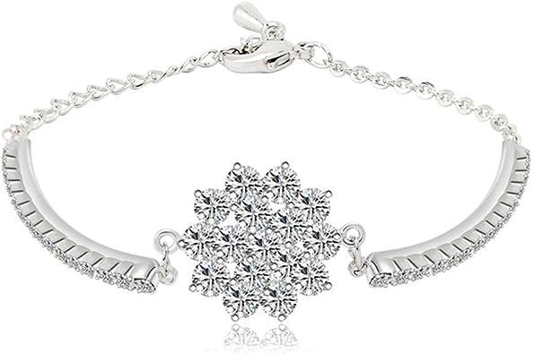 bracelet femme flocon