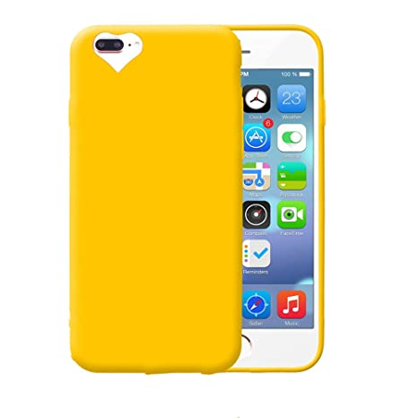 custodia iphone 8 giallo apple